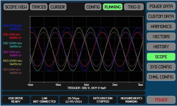 masa tipi güç kalite analizörü