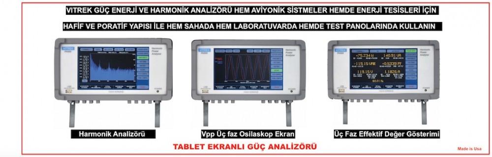 portatif enerji analizöürü, harmonik analizörü
