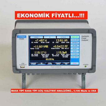 portatif dc harmonik analizörü
