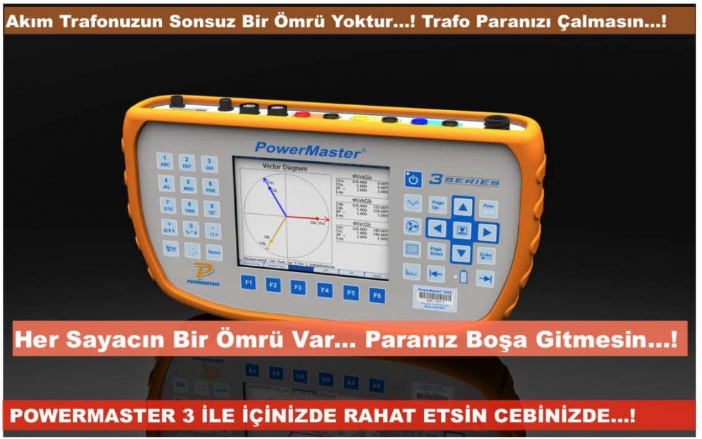 trafo sarım oranı test cihazı