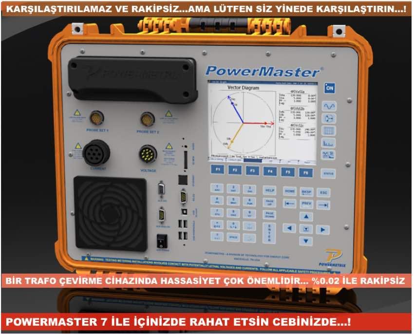 elektrik sayacı test cihazı